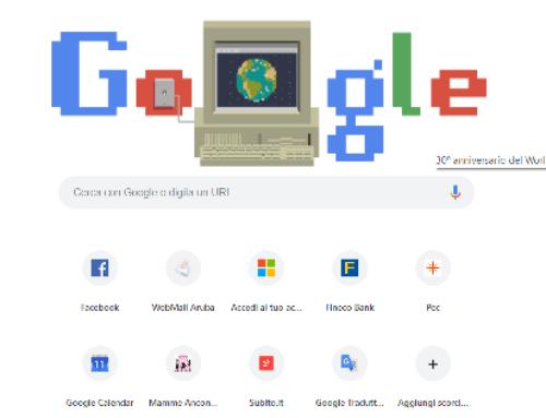 Internet web: 30 anni fa nasceva il www