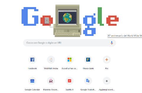 30 anni nascita internet www siti web digitale agenzia Ancona Macerata