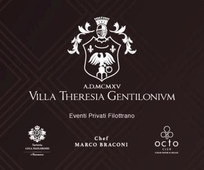 Logo Villa Gentiloni realizzazione sito internet Luca Paolorossi
