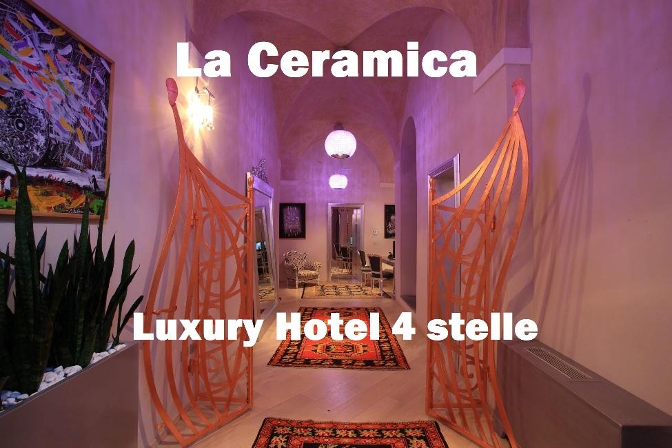 La Ceramica Luxury Hotel 4 stelle sito web strategia