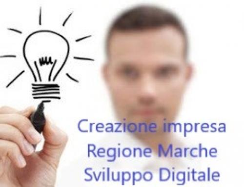 Creazione impresa Regione Marche bando sviluppo