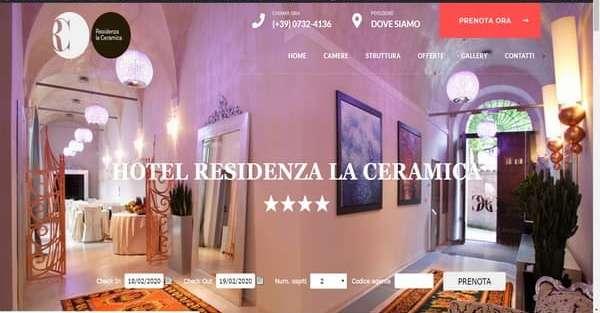 Creazione sito web hotel albergo siti ecommerce agenzia web Ancona Macerata Ascoli Pesaro